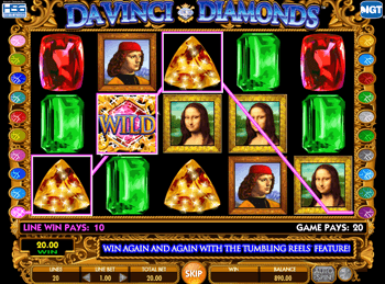 Da Vinci Diamonds: Dual Play 3